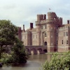 Herstmonceux Castle, East Sussex. Taken in 1986