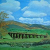 On the Way to Lakeland (near Kendal: A painting by Stanley Port.
