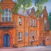Guildford School of Acting: A Painting by Stanley Port