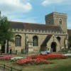 This is a photo I took in Bedford in June 2003 at St Peter's Church