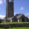 Church at Widecombe in the moor, Dartmoor, Devon.