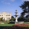 Brodsworth hall and fountain, South Yorkshire
