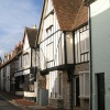 Part of the High street, Aylesford, Kent