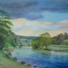Bolton Priory in Wharfedale: An original painting by Stanley Port