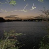 Hollingworth Lake at night