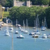 Watermouth Castle and Harbour. Devon