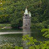 Gothic-style pumping house, Lake Vyrnwy