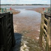 The River Humber from Ferriby Sluice, Lincolnshire