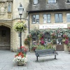 The National Trust in the Market Place, Wells, Somerset
