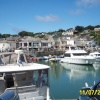 Padstow harbour in Cornwall