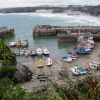 Newquay Harbour, Cornwall