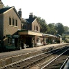 Alresford Steam Railway train station
