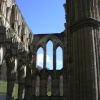 Inside the church, Rievaulx Abbey, Helmsley, North Yorkshire