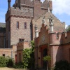 Oxburgh Hall in Oxborough, Norfolk