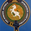 Symbol on locomotive side, Romney, Hythe & Dymchurch Railway, Kent