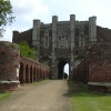 Gatehouse at Thornton Abbey, Lincolnshire