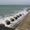 Sea defences at Selsey, West Sussex