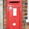 George V Postbox, East Keal, Lincolnshire