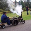 The Steam Rally at Exbury Gardens, Hampshire