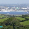 Sea and Fields Overlooking Plymouth, Devon