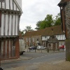 Little Walsingham village centre, Norfolk
