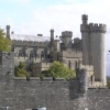 Arundel Castle, West Sussex from outside the wall