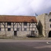 Tudor Merchants Hall and Westgate, Southampton, Hampshire