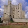 Rochester Castle in Rochester, Kent