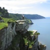 The Valley of the Rocks, Lynton, Devon.