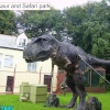 Dinosaur at Combe Martin Wildlife & Dinosaur Park, Watermouth, Devon
