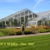 The new glass house . R H S Wisley