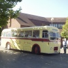 Bristol Greyhound Coach at Warminster, Wiltshire
