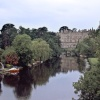 Warwick Castle and the River Avon, Warwickshire