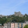Dover Castle From the Town