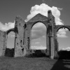 Ruins at Covehithe, Suffolk