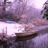 Snow on the lake, Flixton