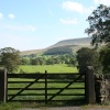 View of Pendle