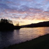 Loch Tummel at sunset