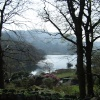 Rydal Water from Rydal Mount, Grasmere, Cumbria
