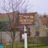 Village Sign of Norton, Nottinghamshire