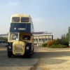Old Daimler Bus, Swindon, Wiltshire