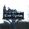 Village sign of East Norton, Leicestershire