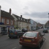 Alton High Street on Cloudy Day