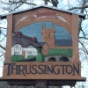 Village sign of Thrussington, Leicestershire