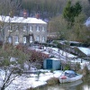 View from the bridge, Kirkham, North Yorkshire
