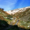Walkers in Cardingmill Valley, Church Stretton, Shropshire