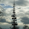 Radio mast near Copt Oak, Leicestershire
