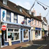 Local shops at Cowes, Isle of Wight