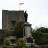 Clitheroe Castle, and Cenotaph.