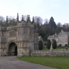 Lanhydrock house and gatehouse